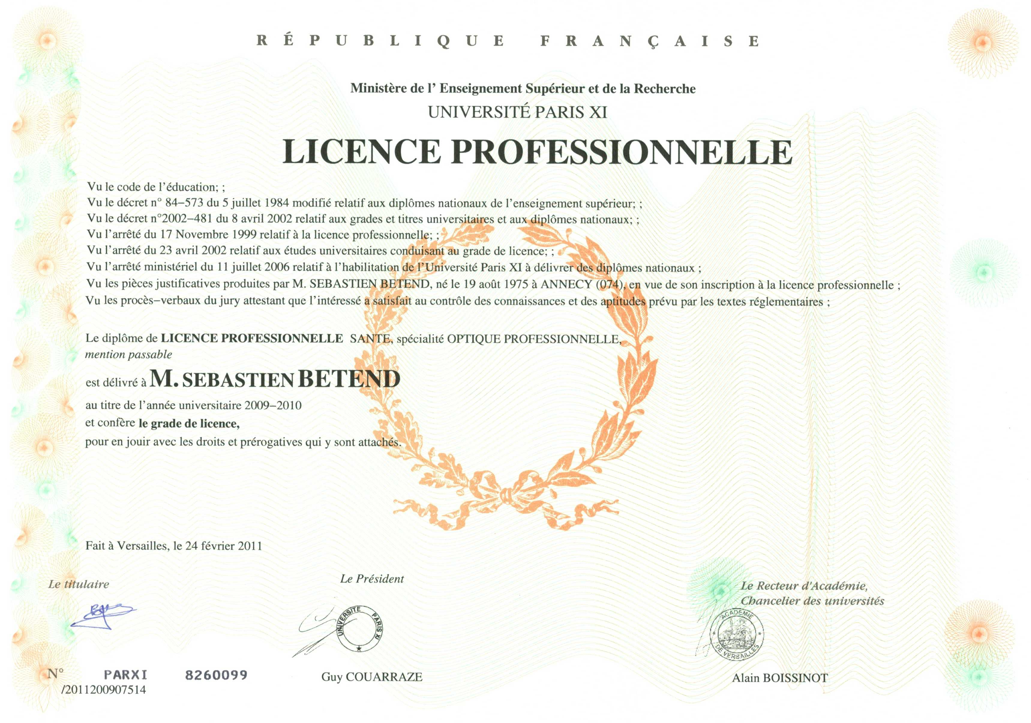 scan-Licence-optique